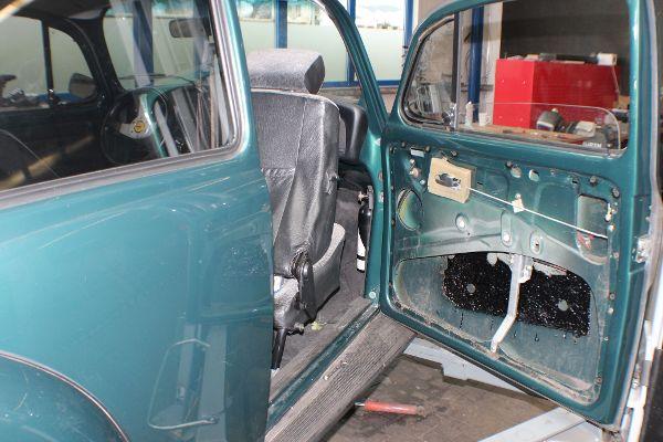 VW Käfer, Türe ohne Verkleidung