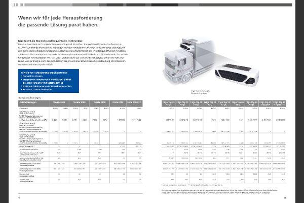 Aufdachtransportkühlsysteme