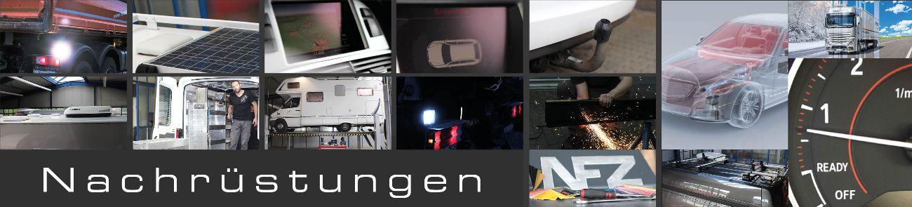 Unsere Werkstatt nimmt Nachrüstungen an Ihrem Fahrzeug vor!