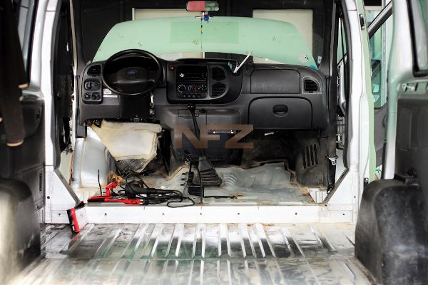 Ford Transit Innenraum