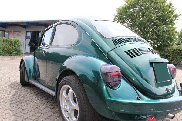 Oldtimer VW Käfer, fertig mit der Schönheitskur