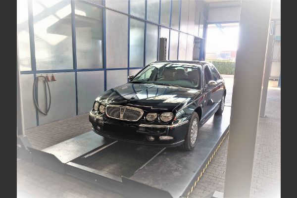 Rover im Werkstattzentrum