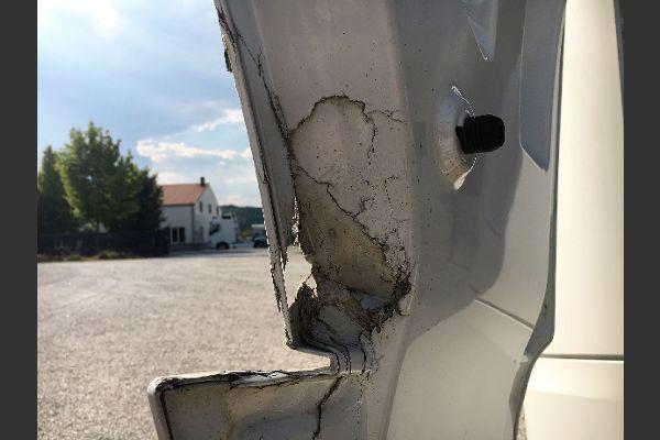 Unfallschaden Lkw