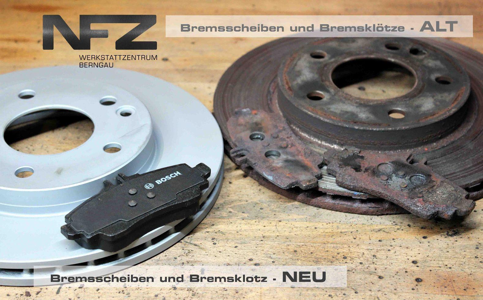 Bremsscheibe und Bremsklotz