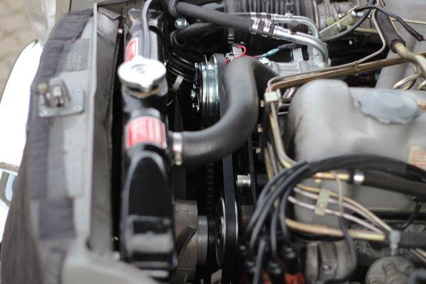 Umgebauter Klimakompressor