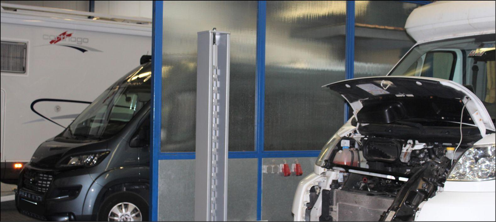 Nachrüstungen und Werkstattservice für Wohnmobile und Wohnanhänger