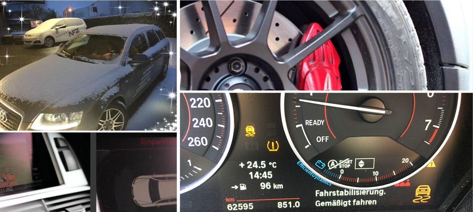 Pkw Standheizung, Leistungsoptimierung, Einparkhilfe, Navigation, Bremse
