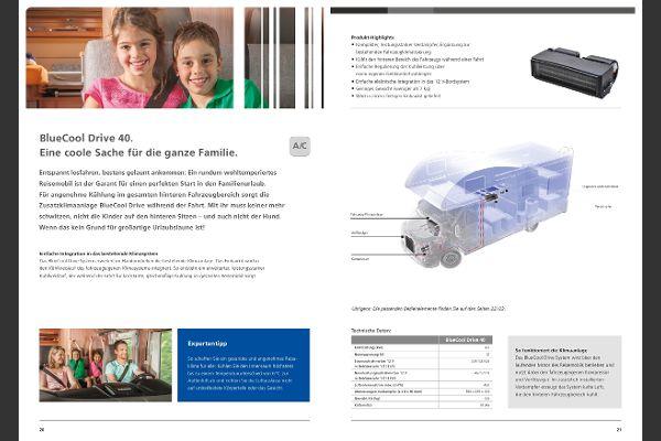 Webasto - BlueCool Drive 40, Zusatzklimaanlage